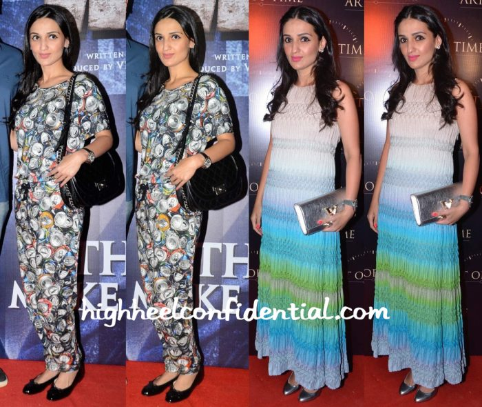 Anu Dewan In Moschino At Wazir Screening And In Missoni At Art Of Time Store Launch-1