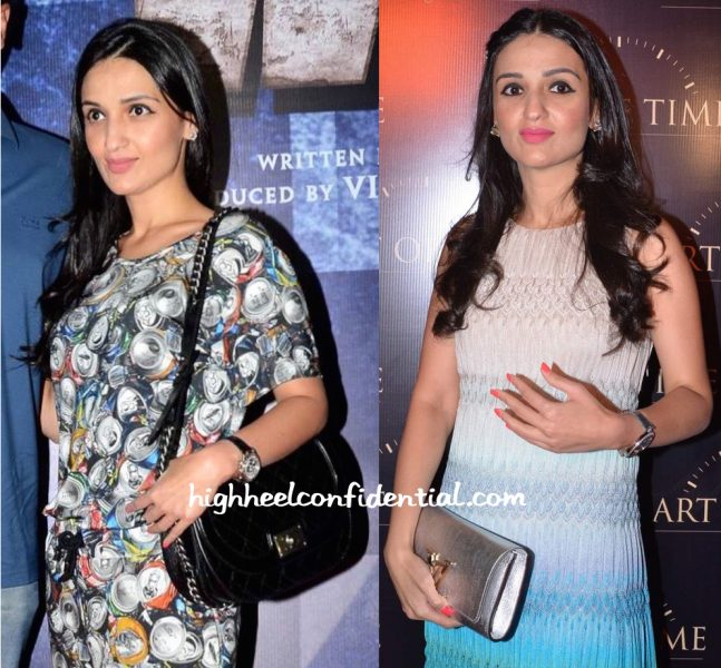 Anu Dewan In Moschino At Wazir Screening And In Missoni At Art Of Time Store Launch-2