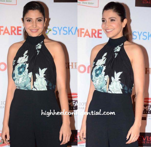 Anushka Sharma At Filmfare Pre-Awards Party 2016-2