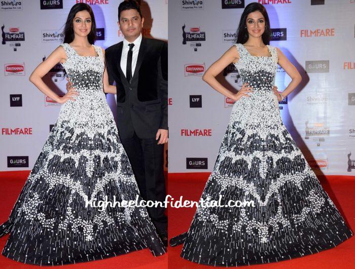 Divya Khosla Kumar In Rami Kadi At Filmfare Awards 2016-2