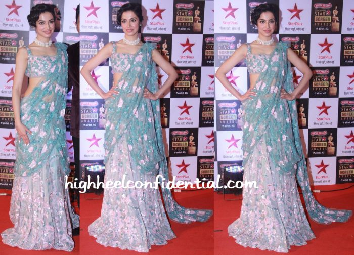 Divya Khosla Kumar In Sheila By Shehla Khan At Star Screen Awards 2016-1