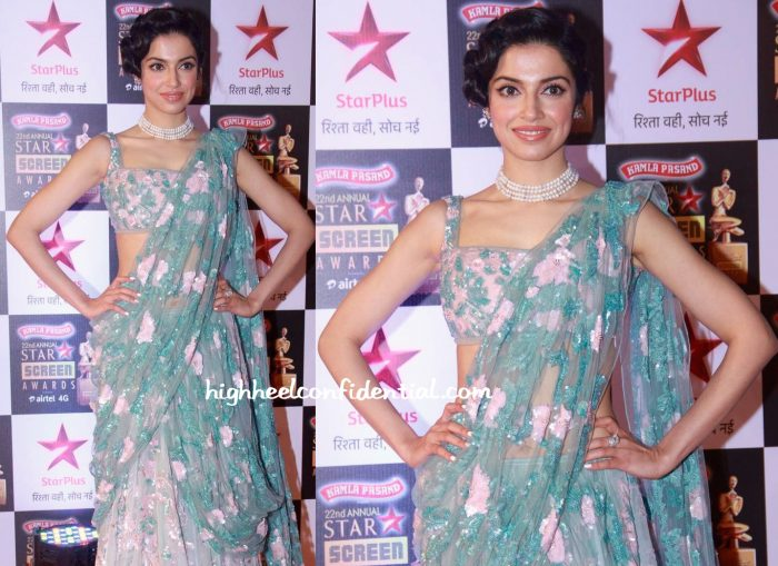 Divya Khosla Kumar In Sheila By Shehla Khan At Star Screen Awards 2016-2