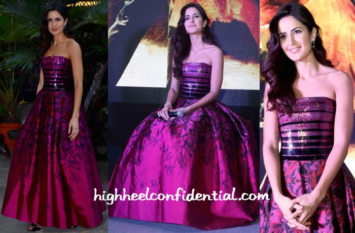 Katrina Kaif In Georges Chakra At Fitoor Song Launch In Delhi-1