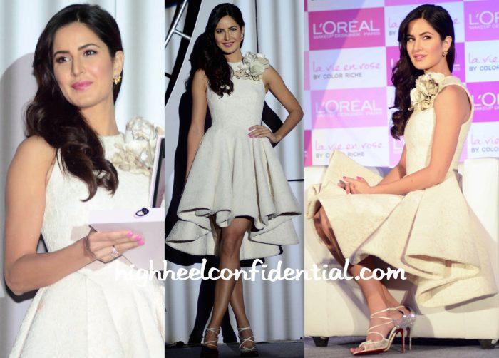 Katrina Kaif Wears Krikor Jabotian At L'Oréal Event-1
