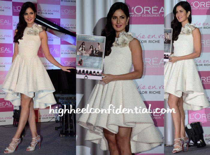 Katrina Kaif Wears Krikor Jabotian At L'Oréal Event-2