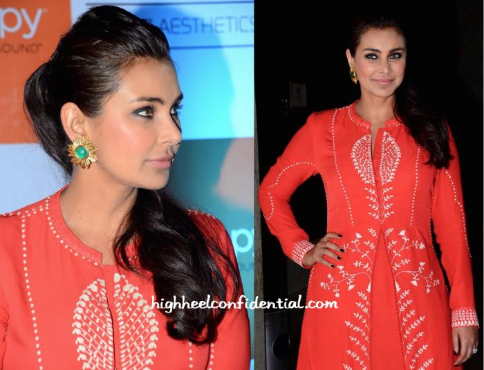 Lisa Ray In Am-Pm By Ankur And Priyanka Modi At Ultherapy Launch-2