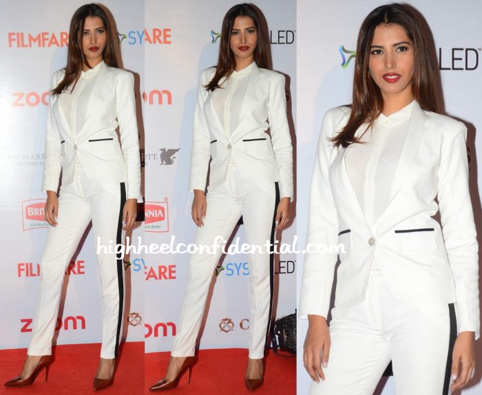 Manasvi Mamgai In Eshaa Amiin At Filmfare Pre-Awards Party 2016