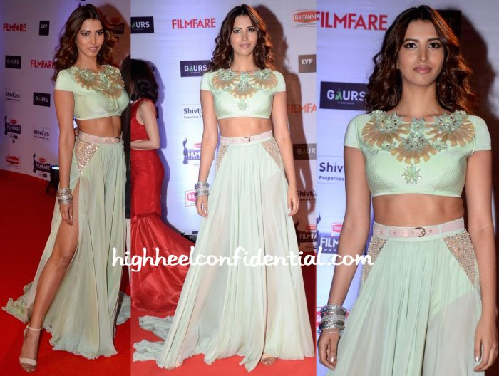 Manasvi Mamgai In Swapnil Shinde At Filmfare Awards 2016