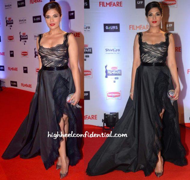 Richa Chadha In Hanna Touma At Filmfare Awards 2016-1