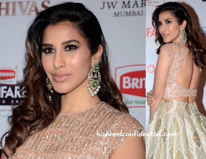 Sophie Choudry In Manish Malhotra At Filmfare Pre-Awards Party 2016-2