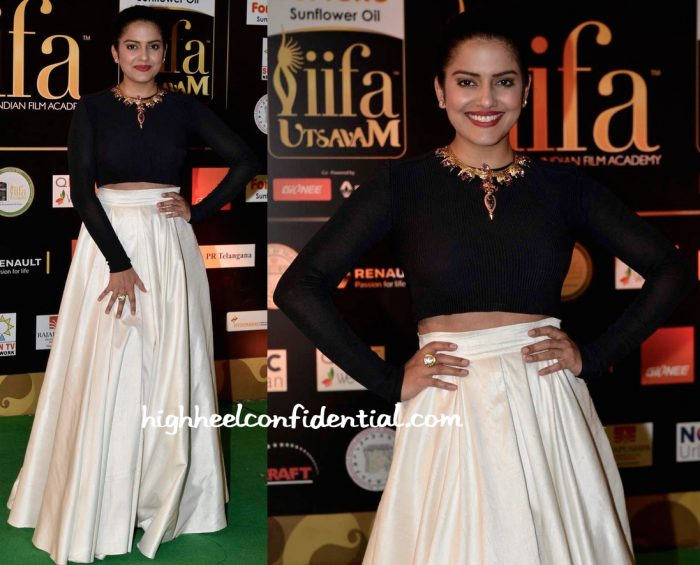 Vishakha Singh In Parizad Wadia At IIFA Utsavam 2016-2