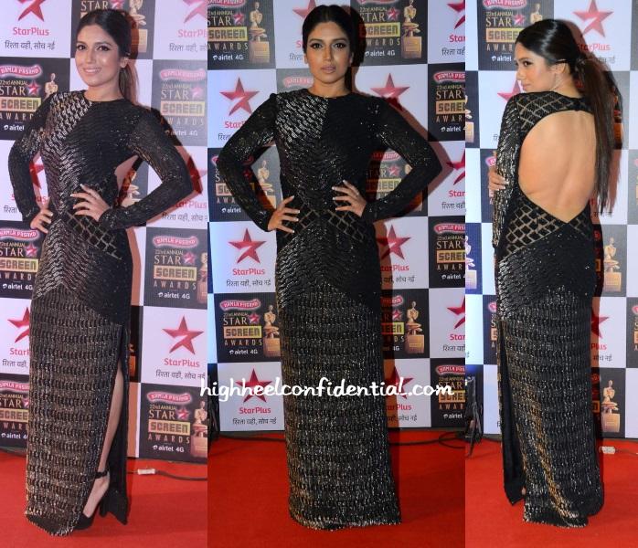 bhumi-pednekar-namrata-joshipura-star-screen-awards-2016