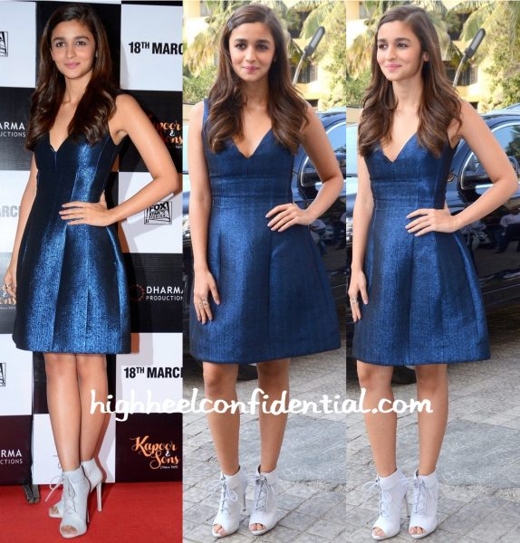 Alia Bhatt In Prabal Gurung At Kapoor And Sons Trailer Launch-1