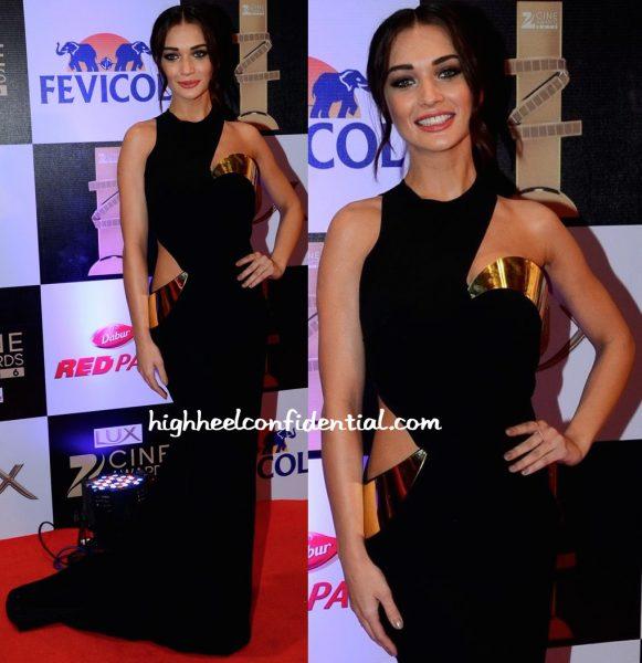 Amy Jackson In Monisha Jaising At Zee Cine Awards 2016-2