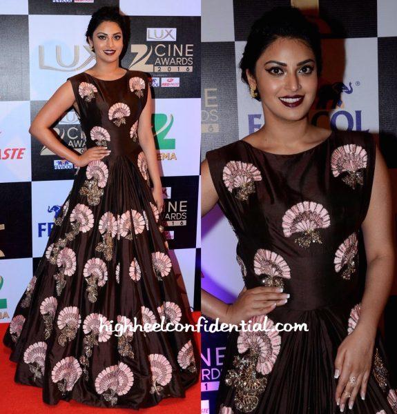 Anushka Ranjan In Manish Malhotra At Zee Cine Awards 2016