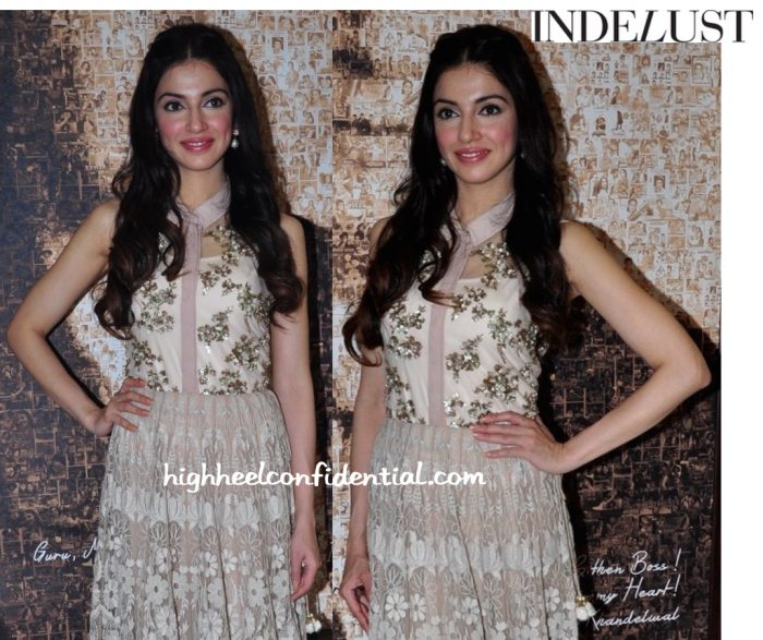 Divya Khosla Kumar In Kavita Bhartia At 'Sanam Re' Promotions-2
