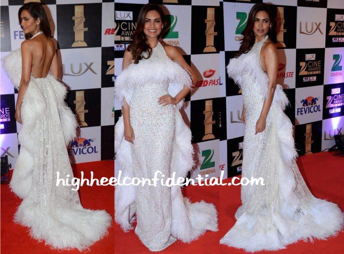 Esha Gupta In Rami Kadi At Zee Cine Awards 2016-1