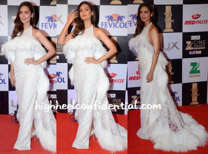 Esha Gupta In Rami Kadi At Zee Cine Awards 2016-2