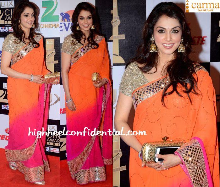 Isha Koppikar In Manav Gangwani At Zee Cine Awards 2016