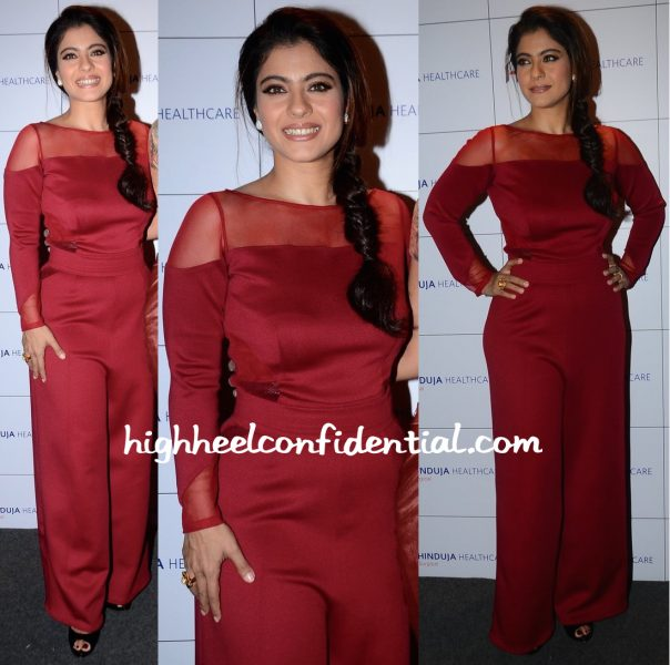 Kajol Wears Swatee Singh To A Breast Cancer Awareness Event-2