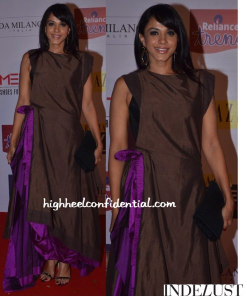 Manasi Scott In Payal Khandwala At Grazia Cover Girl Hunt