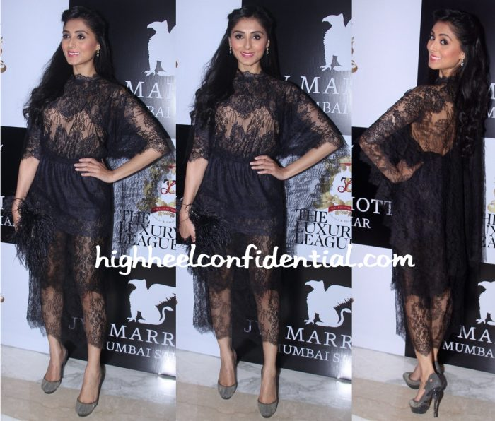 Pernia Qureshi In Valentino At Ritu Beri Luxury League Bash