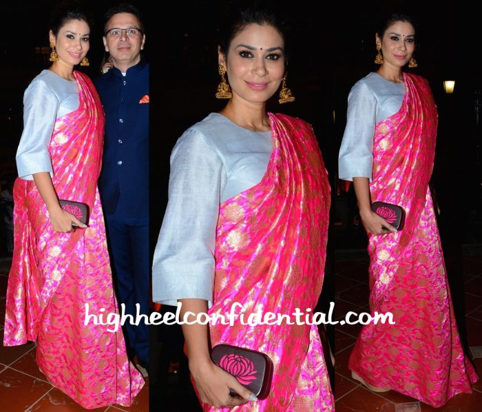 Shaheen Abbas Wears Payal Singhal To Make In India Event