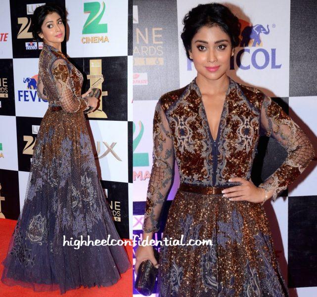 Shriya Saran At Zee Cine Awards 2016-2