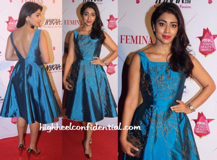 Shriya Saran In Rajat Tangri At Femina Beauty Awards 2016