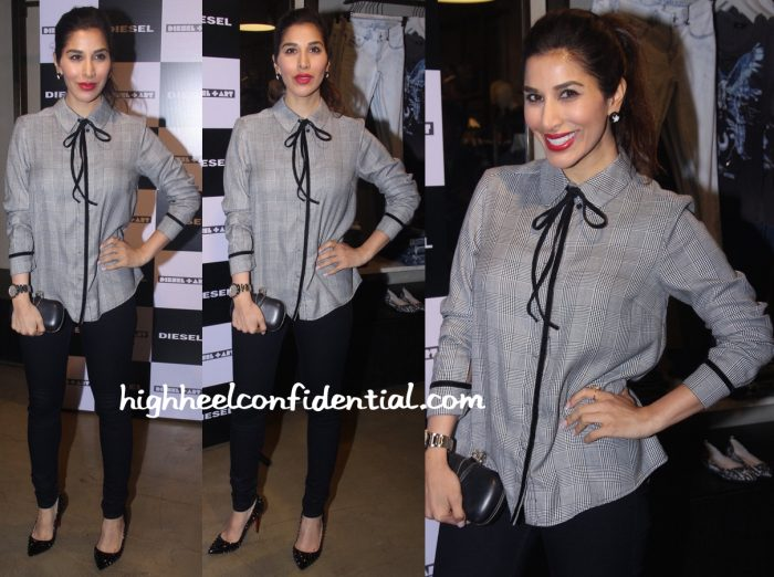 Sophie Choudry At Rohan Shrestha's Hanami Photo Exhibition