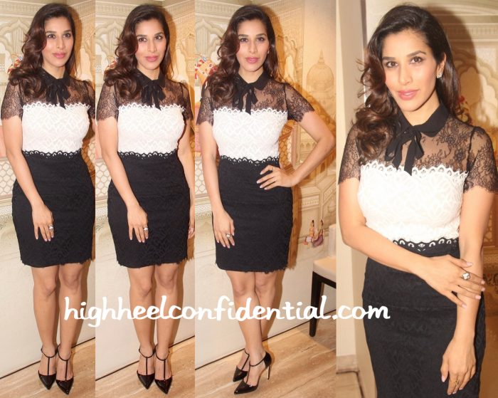 Sophie Choudry Spotted Wearing Sandro At A Recent Event