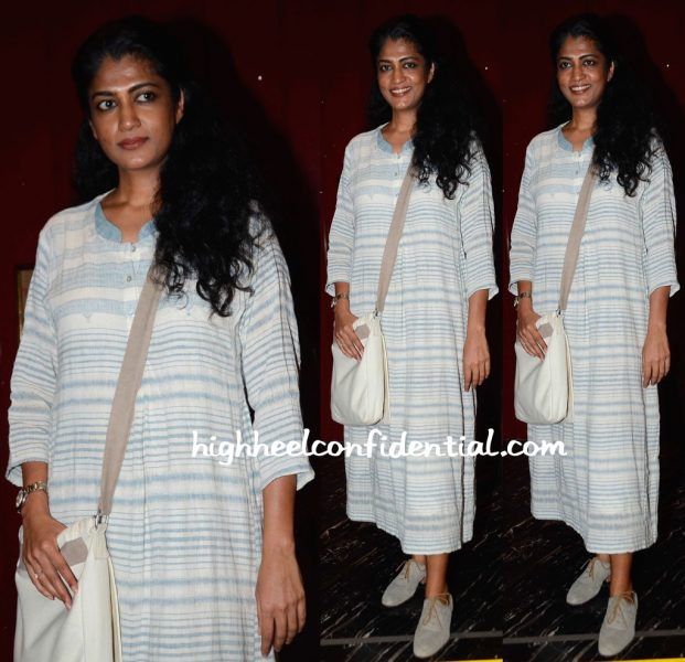 Swati Shetty Wears Eka To 'Aligarh' Screening