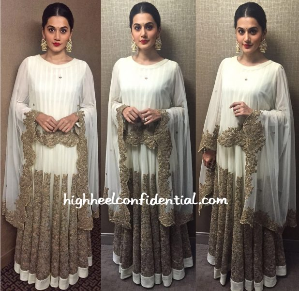 Taapsee Pannu In Jyoti Sachdev At American Telugu Association Event, Chicago-1