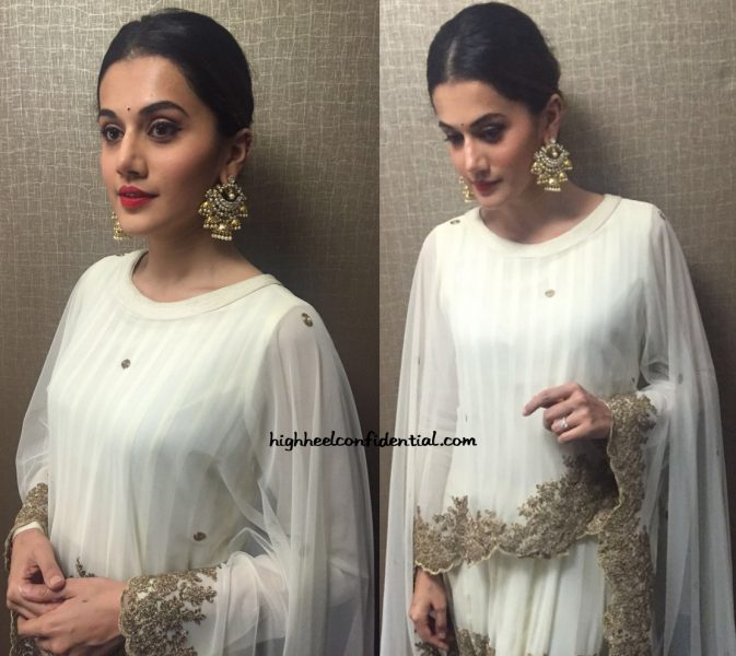 Taapsee Pannu In Jyoti Sachdev At American Telugu Association Event, Chicago-2