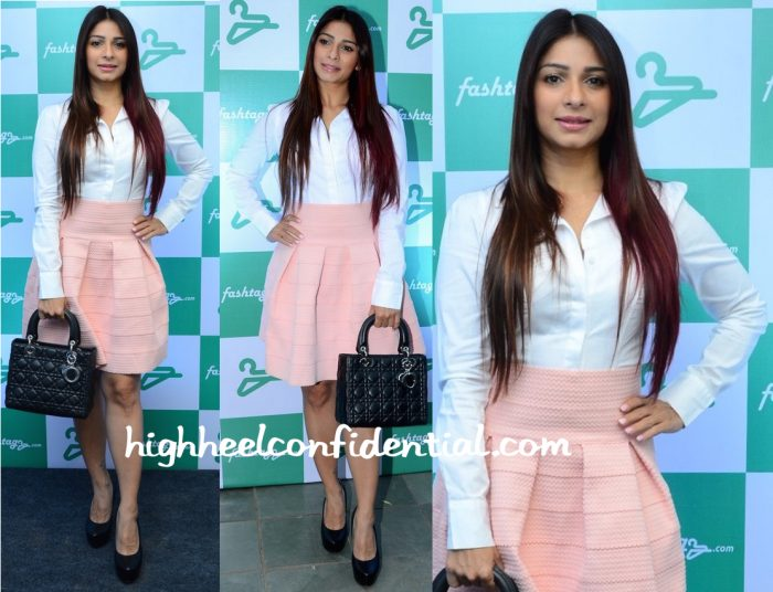 Tanishaa Mukerji In H&M At Fashtag Launch