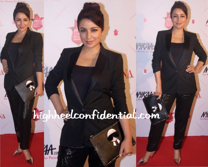Tisca Chopra In Kate Moss X Topshop At Femina Beauty Awards 2016