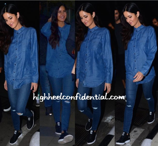 Travel(v)ogue- Katrina Kaif Photographed At Mumbai Airport-2