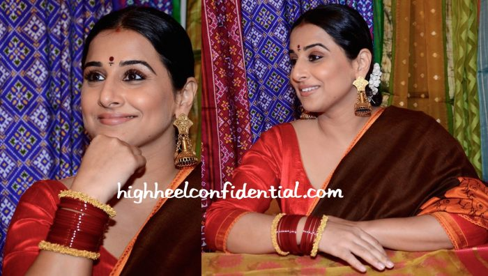Vidya Balan In Gaurang At The Designer's Exhibition At Kalaghoda-2