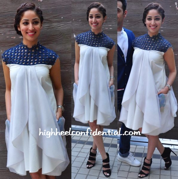 Yami Gautam At Sanam Re Promotions-2