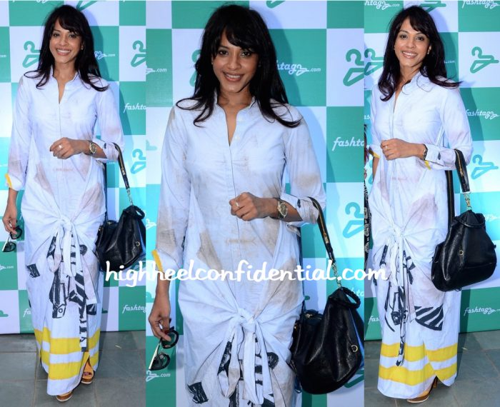 manasi scott fashtagz launch masaba dress