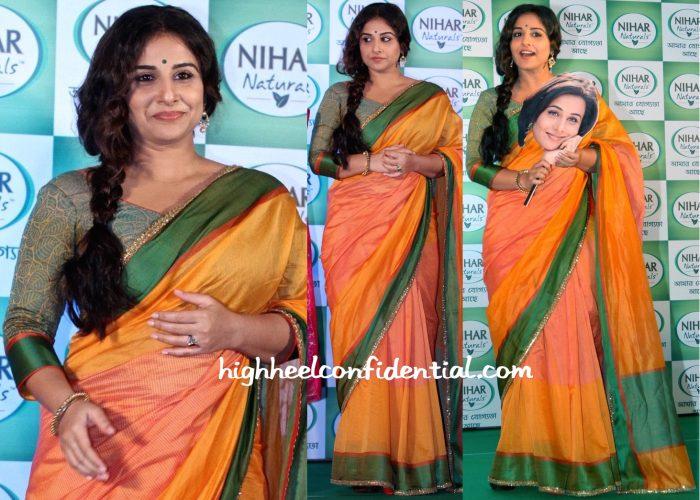 vidya balan-nihar event in calcutta