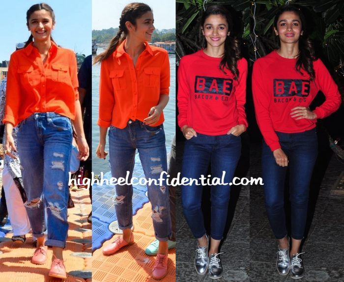 Alia Bhatt At Kapoor And Sons Promotions-1