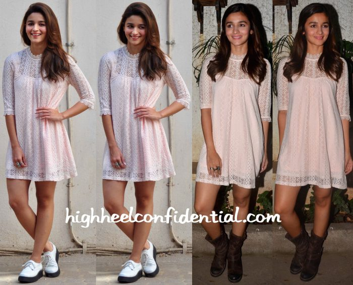 Alia Bhatt At Kapoor And Sons Promotions And Screening