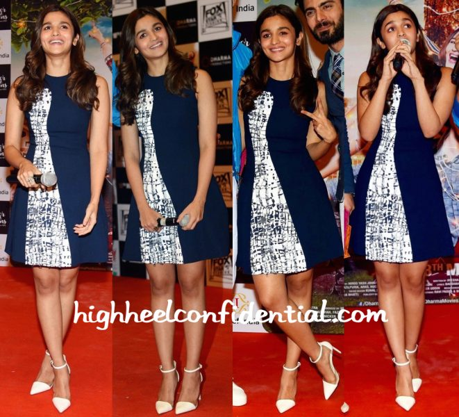 Alia Bhatt In Prabal Gurung At 'Kapoor And Sons' Promotions-1