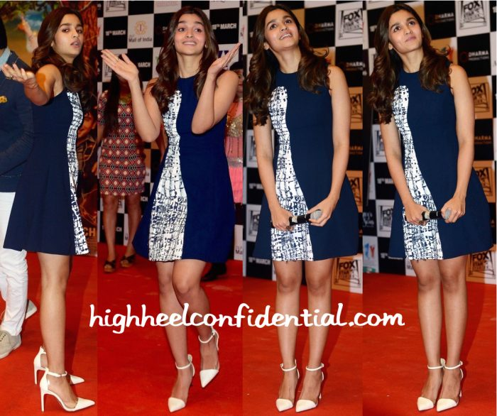 Alia Bhatt In Prabal Gurung At 'Kapoor And Sons' Promotions-2