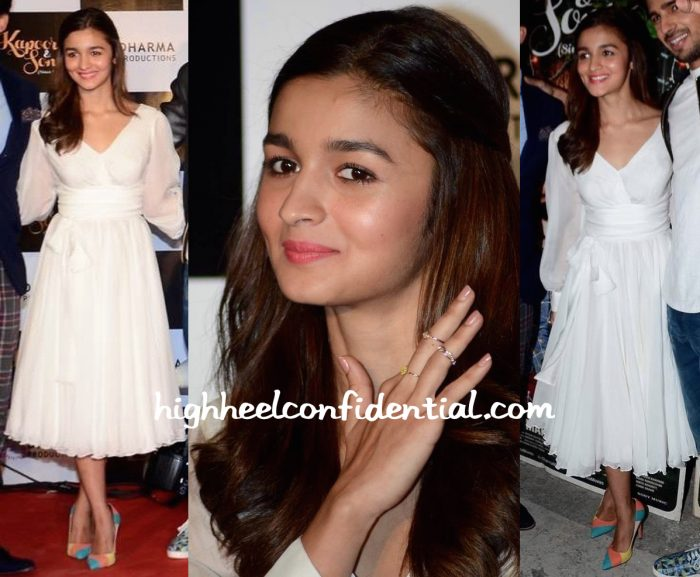Alia Bhatt In Swapnil Shinde At 'Kapoor And Sons' Success Meet-2