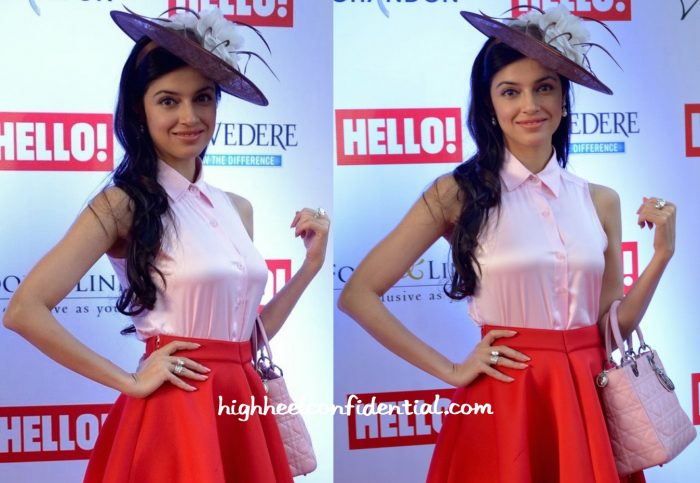 Divya Khosla Kumar In Land Of August At Hello Cup 2016-1