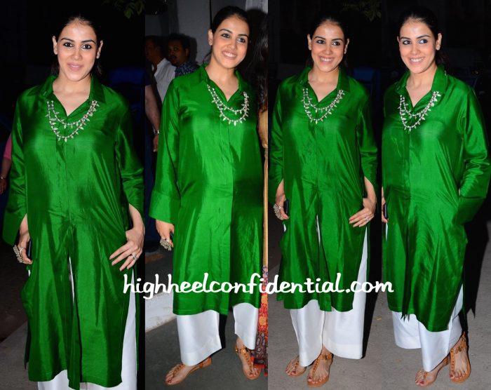Genelia Deshmukh In Payal Khandwala At Maria Goretti's Book Launch