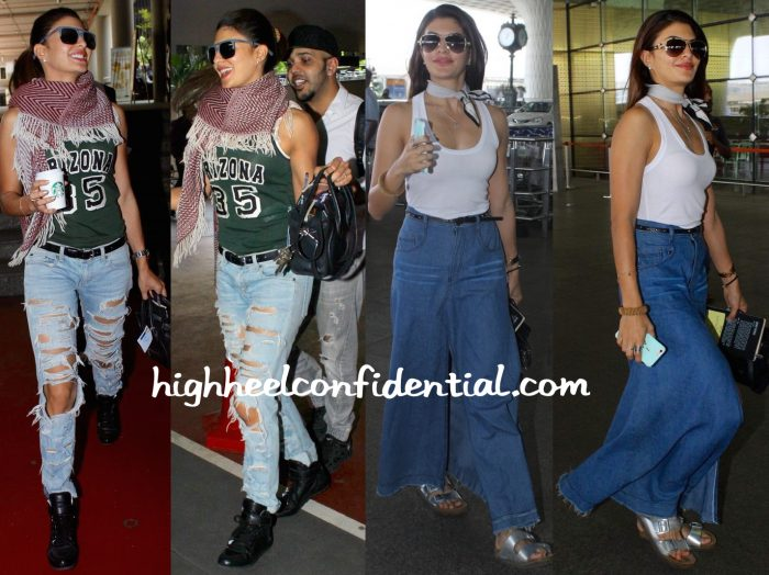 Jacqueline Fernandez Photographed At Mumbai Airport-1