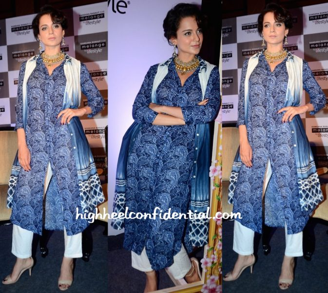 Kangana Ranaut At A Press Meet For Melange-1